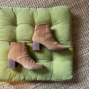 Madewell Suede Heeled Boots